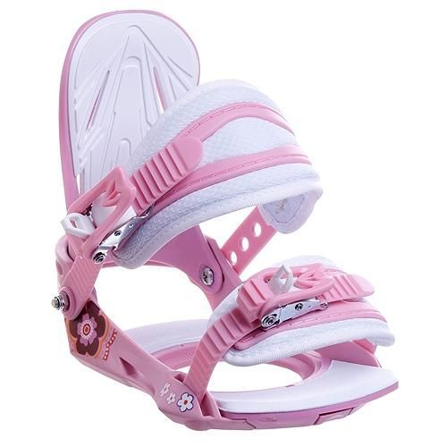 Snowboard bindings Barbie