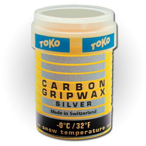 Wax Carbon Grip Wax Silver