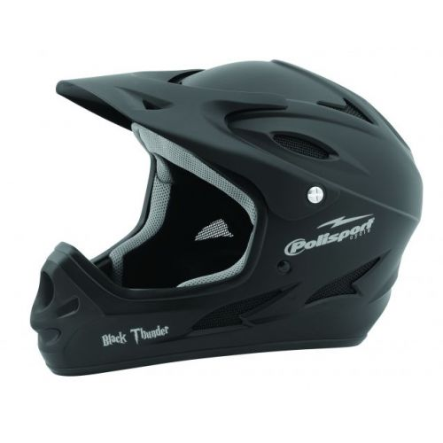 Helmet Black Thunder downhill
