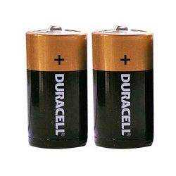 Battery Duracell D/2 Plus Alkaline