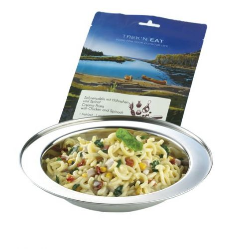 Tūristu pārtika Creamy Pasta with Chicken and Spinach 150 g
