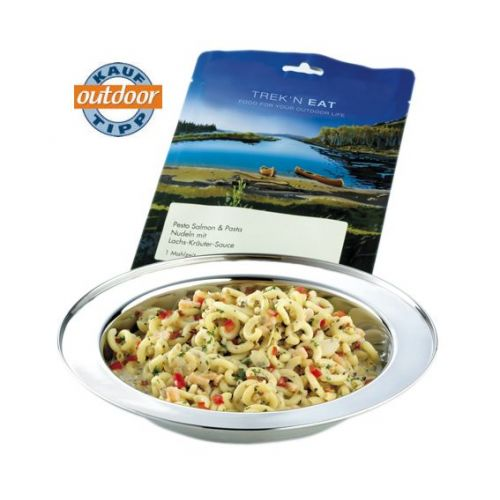 Tūristu pārtika Salmon Pesto with Pasta 160 g