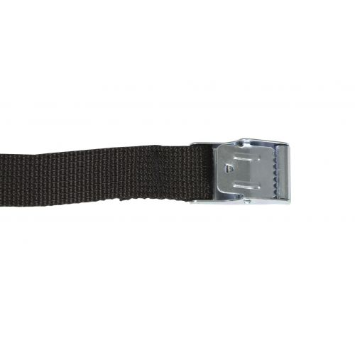 Strap Compression with Metal Buckle