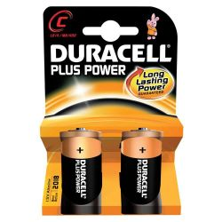 Battery Duracell C/2 Plus Power