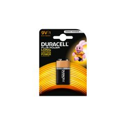 Battery Duracell 9V Plus Power