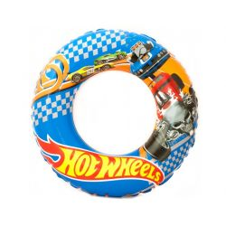 Plaukimo ratas Hot Wheels 56 cm