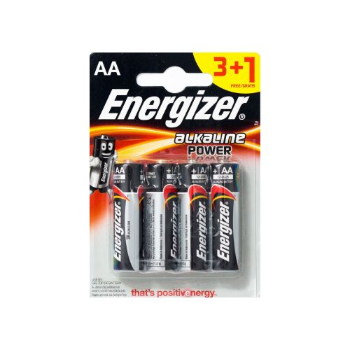 Batteries ENR Base AA B3+1