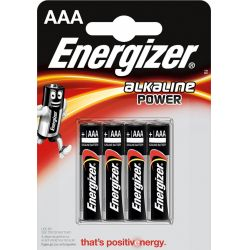 Batteries ENR Base AAA B4 1.5V Alkaline