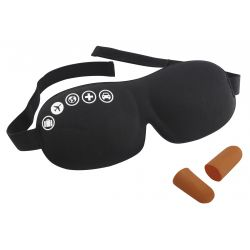Acu maska un ausu aizbāžņi Foam Eyemask and Earplugs