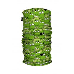 Galvassega Had Kids Printed Fleece Tube Kroko