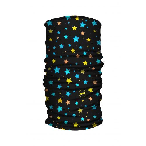 Galvassega Had Kids Printed Fleece Tube Starlove Fluo