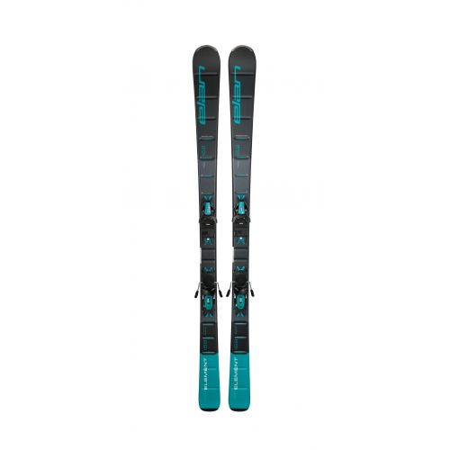 Slaloma slēpes Element Black Blue LS ELW 9.0 GW