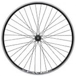 "Rear wheel Freeway 36H QR 28"" (brīvrumba)"