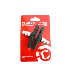 Brake pads V-Brake 70mm Threaded (pack)